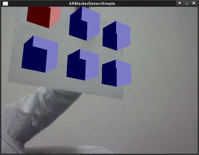 ARTool Kitマーカ検出・位置姿勢推定モジュール