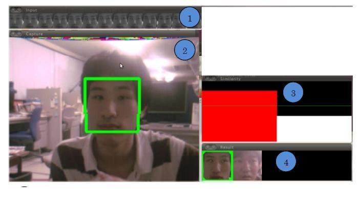顔認識モジュール