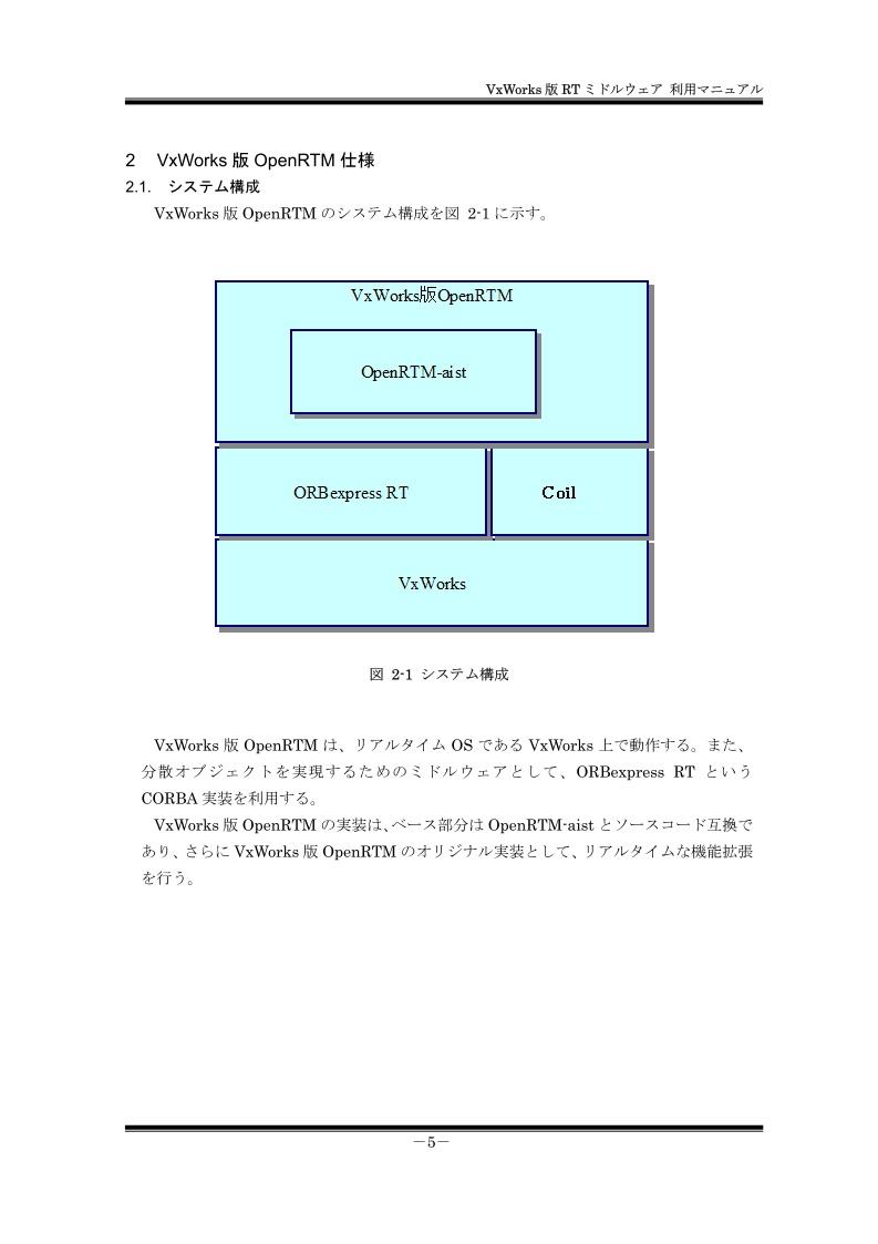 VxWorks版OpenRTM