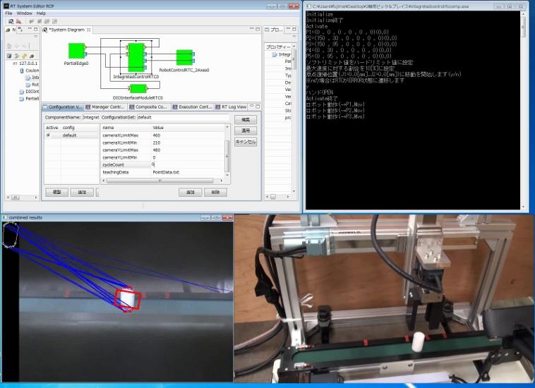 RTミドルウエアの産業応用を目的としたエンジニアリングサンプル(YAMAHA版)