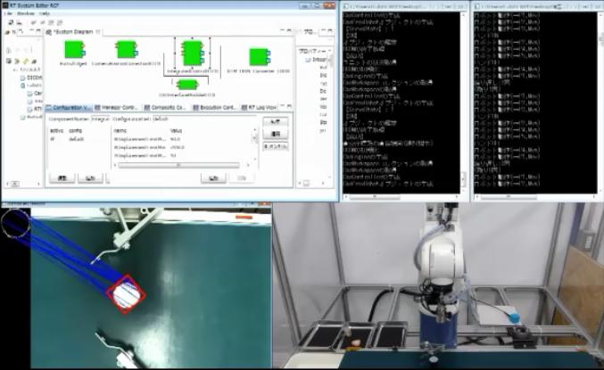 ORiNとの連携によるRTMの産業機器用ハードウエアRTCの拡充/CRDプロバイダを用いたロボット固有情報のXML化による産業用ロボット汎用RTCの開発